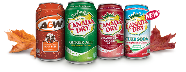 REAL CANADIAN ThanksGIVING DAILY GIVEAWAY!† - Canada Dry
